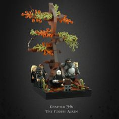 Harry Potter and the Deathly Hallows 27 – Death in the Forest Lego Creations Instructions, Cool Lego Creations, Lego Humor, Lego Hogwarts, Harry Potter Dolls, Lego Halloween, Lego Pictures, Lego Room, Lego Worlds