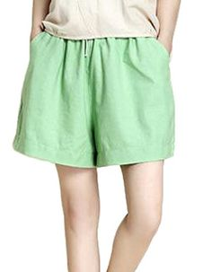 GLORYA Boys Girl Cute Cotton Summer Solid Short