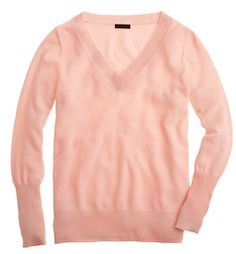 Cashmere light pink sweater