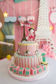 Pink Paris Ballerina Birthday Party