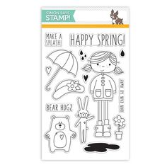 Simon Says Clear Stamps ABBY'S SPRING SHOWERS sss101489 Hop To It at Simon Says STAMP!