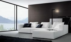 Residential Modern Ffe Living Italian Furniture Design Contemporary Leather