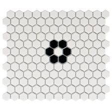"Retro Hexagon 0.875"""