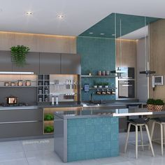 For quite a few, home design is a remarkably daunting course of action. Thus its design may have a significant impact on the general interior of your house. When an island design isn't in your finances, the butcher's block option… Continue Reading → Kitchen Design Small, Modern Kitchen Interiors, Kitchen Modular, Home Decor Kitchen, Kitchen Room Design, Kitchen Interior, Interior Design Kitchen Contemporary, Kitchen Furniture Design, Modern Kitchen Design