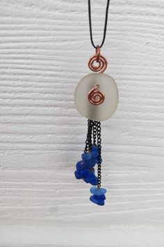 Beach Glass Jewelry Glass Beach Sea Glass Unique by timeremains, $26.00