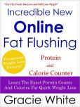 Great Book! Incredible New Online Fat Flushing Protein AND Calorie Counter