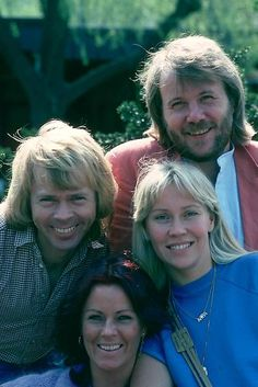 ABBA offstage  -  Pinned 1-25-2016.