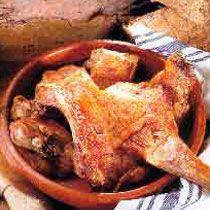 Receta de lechazo de #Burgos