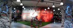 Nike Retail Interior I .....  l Nike Sportive by Dusmekan Design I Istanbul I Dusmekan See more here: www.dusmekan.com