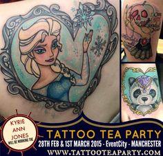 Tattoo tea party - Kyrie x