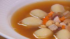 Sopa de Navidad Carne Asada, Pot Roast, Eggs, Breakfast, Ethnic Recipes, Food, Baked Shrimp Scampi, Eggplant Parmesan, Soups