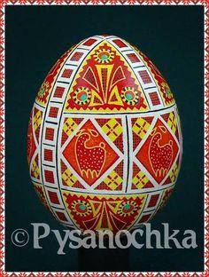 Ukrainian Egg - Chicken Egg