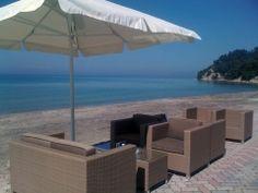 Calm #sea at #Siviri Kassandra #Halkidiki Greece