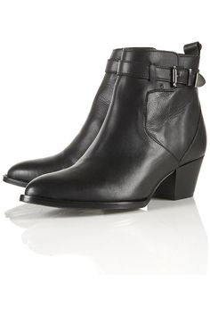 PRAIRIE Western Buckle Boots - Boots - Shoes - Topshop USA