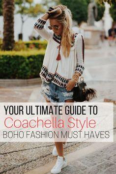 Coachella style, Coachella fashion, Edgy fashion #style , Classy fashion style, #Women fashion style, Fashion outfits, #Fashion style tips, Boho fashion style #womenswear