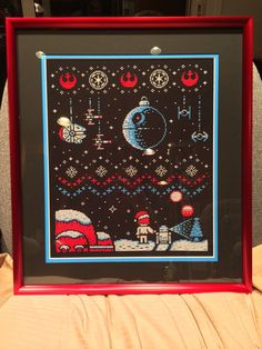 A personal favorite from my Etsy shop https://www.etsy.com/listing/224483473/star-wars-ugly-sweater