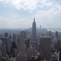 Empire State from the Top of the Rock