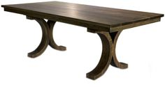 Savoy Available In Multiple Sizes  Traditional, Transitional, MidCentury  Modern, Wood, Dining Room Table by Woodcraft