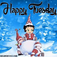 Betty Boop Christmas and Winter Holiday Graphics and Greetings to share with friends and family to show your love for Betty Boop. Betty Boop Cartoon, Girl Cartoon, Happy Tuesday Pictures, Hugs And Kisses Quotes, Black Betty Boop, Betty Boop Pictures, Hello Monday, Merry Christmas And Happy New Year, Happy Holidays