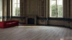 Podłoga drewniana z dębu białego, wszechstronne deski podłogowe marki BKD Home.