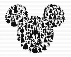 Best Birthday Quotes For Kids Disney Mickey Mouse 25 Ideas Disney Cups, Disney Diy, Disney Crafts, Mickey Mouse Silhouette, Images Disney, Disney Designs, Cricut Explore Air, Silhouette Cameo Projects, Disney Wallpaper