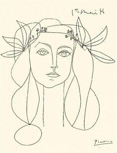 Pablo Picasso – Head, 1946