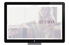 Calexico Fashion Boutique Website by Fred Nerby, via Behance