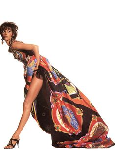 Christy for Versace, by Irving Penn, 1990