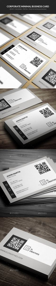 Corporate Minimal Business Card Template PSD #design Download: http://graphicriver.net/item/corporate-minimal-business-card-06/13611196?ref=ksioks