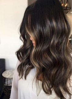 25 Beautiful Brunette Balayage Hair Color Ideas