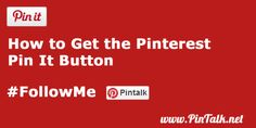How to Get the Pinterest Pin It Button