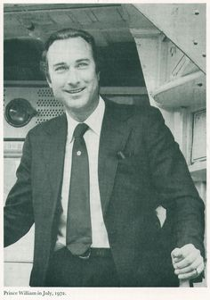 Prince William of Gloucester in July,1972