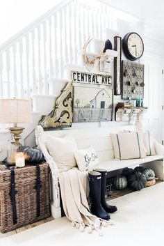 Farmhouse Style - Pinterest Predicts The Top Home Trends Of 2017 - Photos