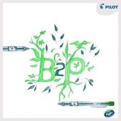 Věděli jste, že pera #B2P jsou certifikována jako ekologicky šetrné výrobky? :) #happywriting