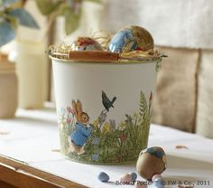Riley's Easter Basket this year! Will also make a cute sand pail for beach days this summer! :)