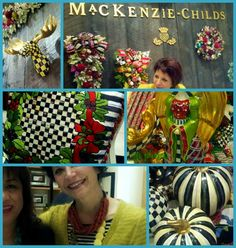 Met her IRL @ Bloomingdale's: Rebecca Proctor, Creative Director of MacKenzie-Childs
