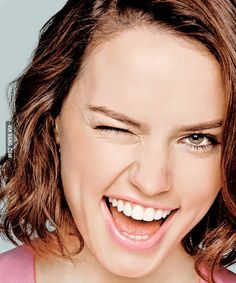 Daisy Ridley. Pretty sure we would be best friends within 5 minutes of meeting each other and if that could happen in real life, that would be amazing. Please?