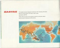 Qantas 1967 Trans Tasman, Pacific Island Booklet