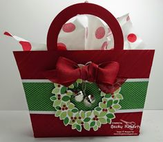 Christmas Purses - tutorial available