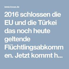 2016 schlossen die EU und die Türkei das noch heute geltende Flüchtlingsabkommen. Jetzt kommt heraus: Angela Merkel soll der Türkei bei den Verhandlungen über den Deal eine konkrete Zusage gemacht haben, die bisher nicht bekannt war.