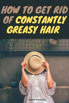 Need some remedies for constantly greasy hair? These tips will help you fight your oily scalp without washing it every day!