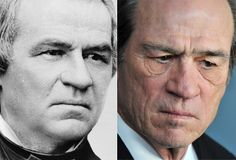 Andrew Johnson and Tommy Lee Jones