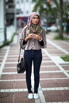 casual ❤ hijab style