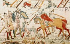 The widely accepted theory that nuns across England made the Bayeux tapestry in nine sections which were then stitched together has been thrown into doubt by new research Photo: ALAMY