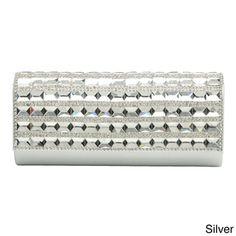 J. Furmani 'Sofia' Studs and Rhinestones Evening Bag   Overstock.com Shopping - Top Rated J. Furmani Evening Bags $60.99