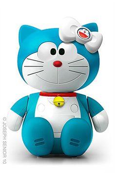 Doraemon n Hello Kitty's kid ?