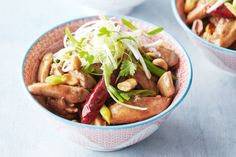 Celebrate Chinese New Year with traditional kung pao chicken. Peanut Chicken, Asian Recipes, Ethnic Recipes, Recipes From Heaven, Asian Cooking, Kung Pao Chicken, Chicken Recipes, Cooking Recipes, Chinese