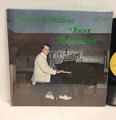 "MAYNARD WALKER - Just Maynard RARE Religious Ohio LP Vinyl Record 12"" Shrink #ChristianGospel"