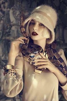 Na wzór węża