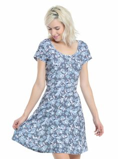 Disney Stitch Skater Dress Available at Hot Topic Lilo Dress 34d951ab4